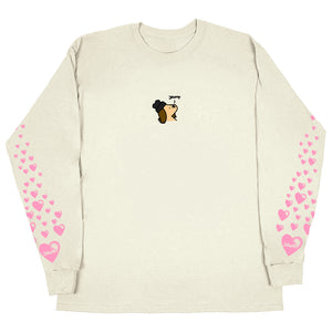JAWNY x LK Puppy Luv Long Sleeve / Tan (Pre-Order)