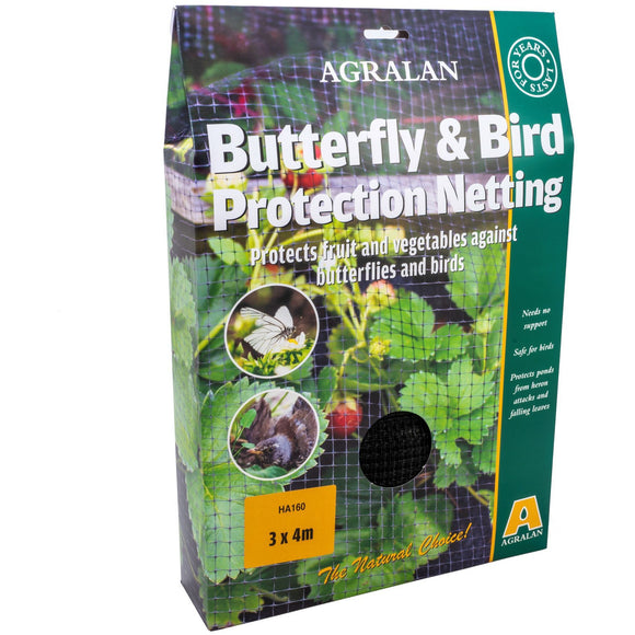 Bird & Butterfly Protection Netting '7mm' 4 x 3m