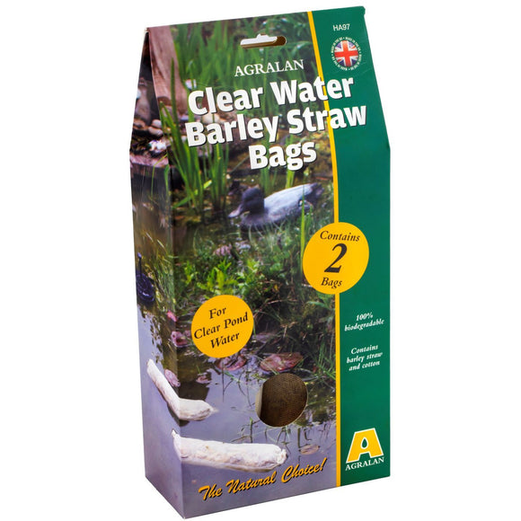 Clear Water Barley Straw Bags Pack of 2