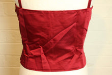 Load image into Gallery viewer, ICEBERG Beautiful Rich Red Strappy Party Top - Size 44 - UK 12