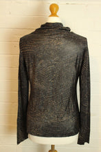Load image into Gallery viewer, New ICEBERG Ladies Animal Print Long Sleeved Top - Size 42 - UK 10 - BNWOT