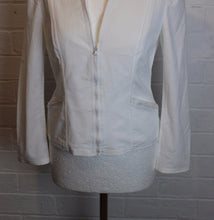 Load image into Gallery viewer, PHILOSOPHY DI ALBERTA FERRETTI White JACKET - Size UK 14 - IT 46 - US 10