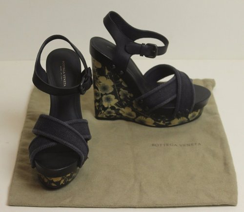 BOTTEGA VENETA Platform Wedges / Sandals / Shoes - Size EU 36 - UK 3