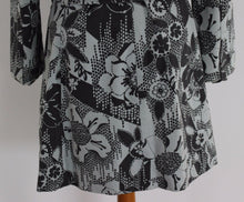 Load image into Gallery viewer, TED BAKER Ladies LAPPET Floral Pattern TRENCH COAT  Ted Size 3 - UK 12  M Medium