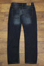 "Load image into Gallery viewer, 883 POLICE Mens TEKS Blue Denim Rugby Slim JEANS - Size Waist 32"" - Leg 33"""