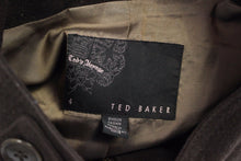 Load image into Gallery viewer, TED BAKER Ladies Brown ETIENNE Wool Blend JACKET / COAT  Ted Size 4 - UK 14 - L