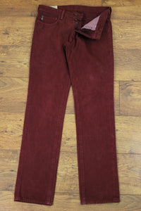 "ABERCROMBIE & FITCH Mens Coloured THE A&F SKINNY JEANS - Waist 32"" - Leg 34"""