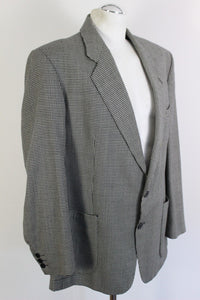 "BURBERRYS' PRORSUM Houndstooth BLAZER / TAILORED SPORTS JACKET Size 48"" Chest"