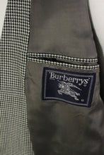 "Load image into Gallery viewer, BURBERRYS' PRORSUM Houndstooth BLAZER / TAILORED SPORTS JACKET Size 48"" Chest"