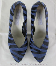 Load image into Gallery viewer, STELLA McCARTNEY Zebra Print KIRIT Court Shoe HEELS Size 37.5 - UK 4.5 - US 7.5