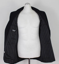 "Load image into Gallery viewer, D&G DOLCE & GABBANA Mens Pinstriped BLAZER / JACKET Size IT 52 - UK 42"" Chest"