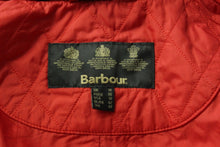 Load image into Gallery viewer, BARBOUR Ladies QUILTED Red TAILOR QUILT JACKET / COAT - Size UK 14 - US 10