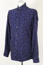 "Load image into Gallery viewer, DUCHAMP London Floral Pattern SLIM FIT SHIRT - Size 15"" Collar - 38 cm"
