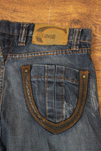 "Load image into Gallery viewer, ROBERTO CAVALLI Ladies Blue Denim Straight Leg JEANS Waist 32"" - IT 46 - Leg 28"""