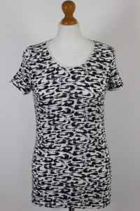 REISS Ladies IMPERIA PRINT TOP - Size XS - Extra Small