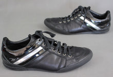 Load image into Gallery viewer, DIOR HOMME Black Calfskin B18 SIGNATURE Lace-Up Trainers / Shoes - Size 38 UK 5
