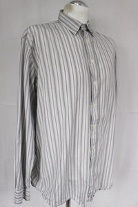 HACKETT London Mens Striped SHIRT - Size Extra Large - XL