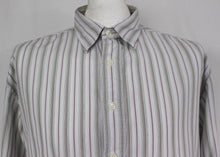 Load image into Gallery viewer, HACKETT London Mens Striped SHIRT - Size Extra Large - XL