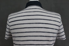 Load image into Gallery viewer, HUGO BOSS Mens White Striped REGULAR FIT BELLANO POLO SHIRT - Size Small - S