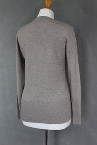 PERUZZI Ladies Wool Blend JUMPER with Lace Detail - Size IT 40 - UK 8