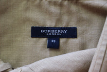 Load image into Gallery viewer, BURBERRY LONDON Mens Light Brown SHIRT - EU 43 - Extra Large - XL