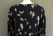 Load image into Gallery viewer, JOULES Ladies MARNAVY WICKMERE Bird Pattern DRESS - Size UK 10 - US 6 - EU Small