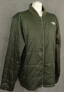 THE NORTH FACE Mens Green Quilted JACKET / COAT - Size Extra Large - XL
