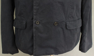 "ALLSAINTS Mens Navy FOREMAN JACKET / COAT - Size 44 - 44"" Chest - ALL SAINTS"