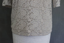 Load image into Gallery viewer, ALICE TEMPERLEY Ladies Lace Detail Short Sleeved Top - Size UK 12