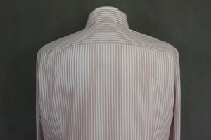 "BOSS SELECTION HUGO BOSS Mens Striped SHIRT Size 16.5"" Collar - XL - Extra Large"