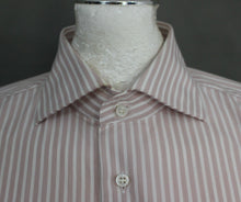 "Load image into Gallery viewer, BOSS SELECTION HUGO BOSS Mens Striped SHIRT Size 16.5"" Collar - XL - Extra Large"