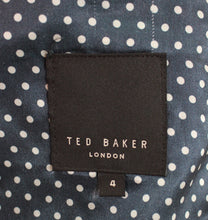 Load image into Gallery viewer, TED BAKER SEPTA Cashmere Blend BLAZER / TAILORED JACKET Ted Size 4 - Large L