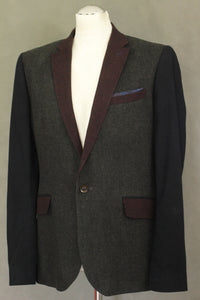 TED BAKER SEPTA Cashmere Blend BLAZER / TAILORED JACKET Ted Size 4 - Large L