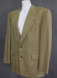 "HUGO BOSS Mens DELON 100% Virgin Wool BLAZER / TAILORED JACKET - Size IT 50 - UK 40"" Chest"