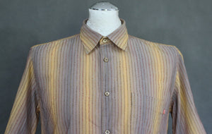 HUGO BOSS Mens Short Sleeve SHIRT - Size Small - S - GREAT COLOUR!