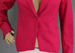 ALLSAINTS Ladies WOOL Blend Pink BLAZER / TAILORED JACKET Size XS - Extra Small