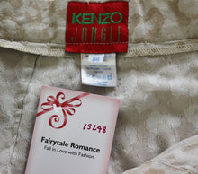 Load image into Gallery viewer, KENZO JUNGLE Ladies Button Fasten Leopard Print SKIRT - Size FR 36 - UK 8 - IT 40