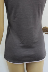 D.EXTERIOR Ladies Grey Wool Blend TOP - Size Small - S - DEXTERIOR