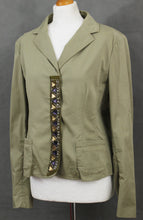 Load image into Gallery viewer, PHILOSOPHY DI ALBERTA FERRETTI Ladies Embellished JACKET - Size UK 14 - IT 46 - US 10
