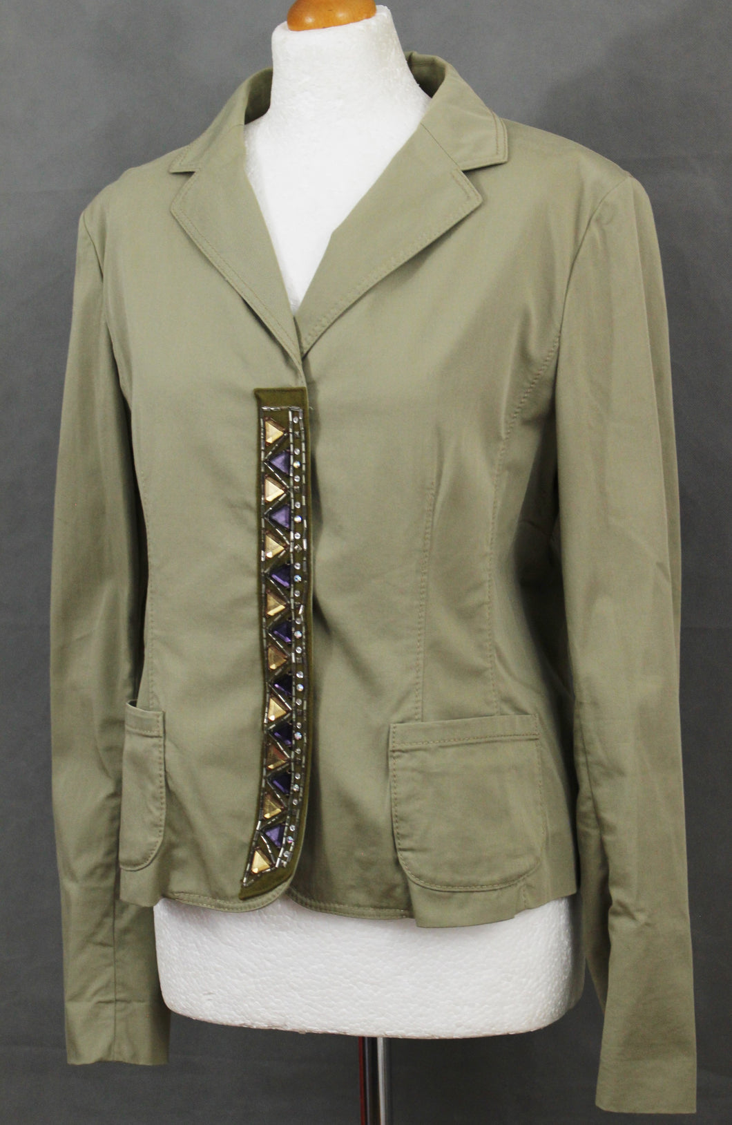 PHILOSOPHY DI ALBERTA FERRETTI Ladies Embellished JACKET - Size UK 14 - IT 46 - US 10