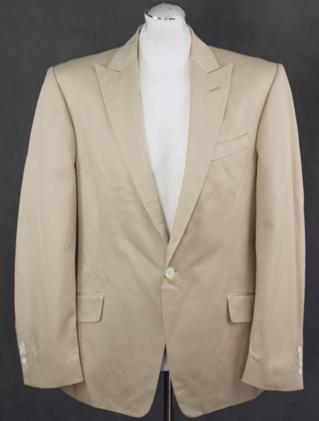 RICHARD JAMES Mens 100% Cotton BLAZER / SPORTS JACKET Size 42R - 42