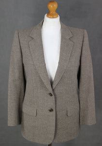 BRIONI Ladies CASHMERE & WOOL BLEND TAILORED JACKET / BLAZER Size IT 44 - UK 12
