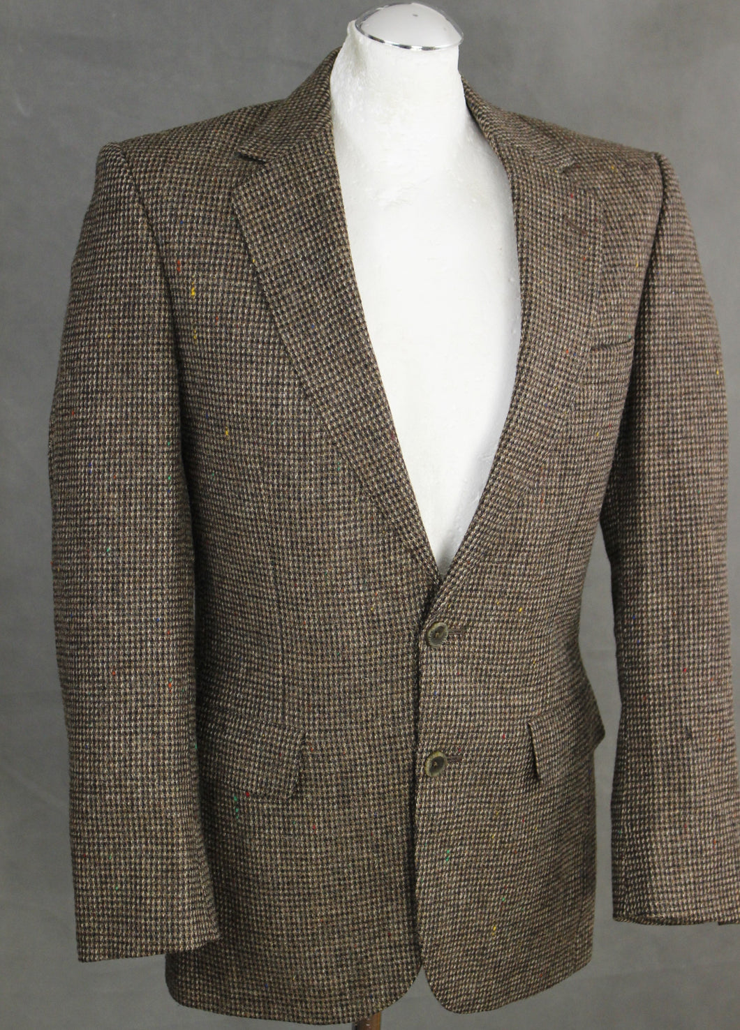 AQUASCUTUM Woven 100% Wool BLAZER / TAILORED JACKET Size 36 REG - 36