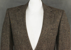 "AQUASCUTUM Woven 100% Wool BLAZER / TAILORED JACKET Size 36 REG - 36"" Chest"