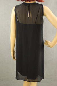 PAUL SMITH BLACK Ladies 100% Silk Dress - Size IT 40 - UK 8