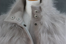 Load image into Gallery viewer, PINKO TAG Ladies BENICIO CAPPOTTO Wool Blend MURMANSKY Detail COAT Size IT 42 - UK 10 - US 6