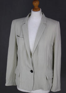 ISABEL MARANT Ladies Soft Grey BLAZER / JACKET - Size FR 38 - UK 10
