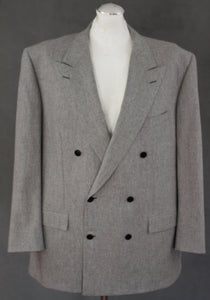 "BRIONI Mens TIBERIO Grey 2 PIECE SUIT IT 55 R - UK 45"" Chest - W38 - L30"