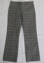 Load image into Gallery viewer, ISABEL MARANT ÉTOILE Mid Rise Grey Check Pattern Capri TROUSERS Size FR 34 UK 6