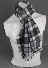 Load image into Gallery viewer, BARBOUR INTERNATIONAL 100% Wool Checked Pattern SCARF - Made in UK